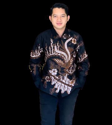 Kemeja Batik Pria Solo Lengan Panjang KBP 09