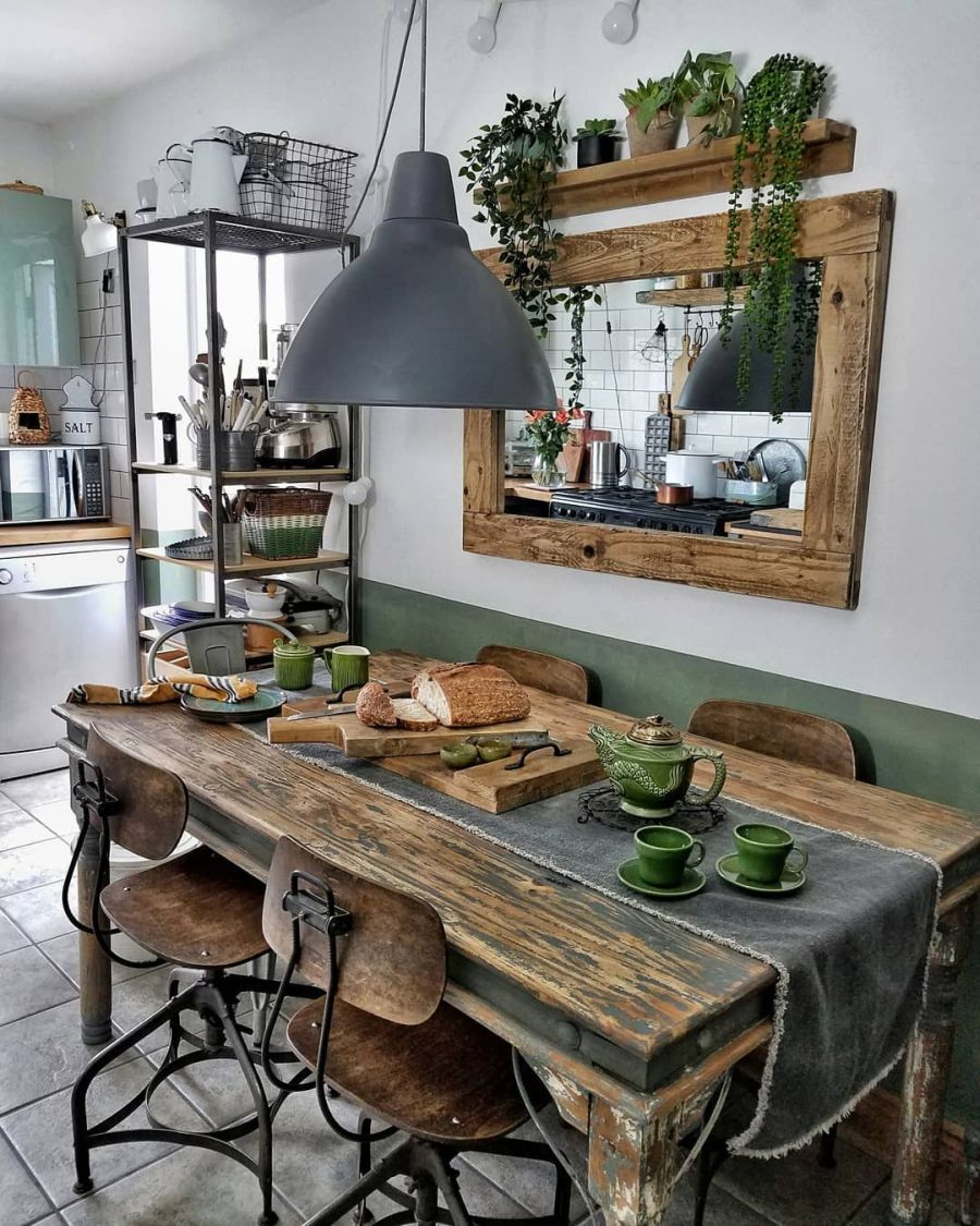 Nieszablonowe mieszkanie z naturą w tle, wystrój wnętrz, wnętrza, urządzanie domu, dekoracje wnętrz, aranżacja wnętrz, inspiracje wnętrz,interior design , dom i wnętrze, aranżacja mieszkania, modne wnętrza, home decor, rustic style, Scandinavian style, industrial style, classic style, styl rustykalny, styl skandynawski, vintage, boho, styl industrialny, styl eco, natura, natural, stonowane kolory, urban jungle, kuchnia, kitchen, meble kuchenne, drewniane blaty, drewniany stół, krzesła