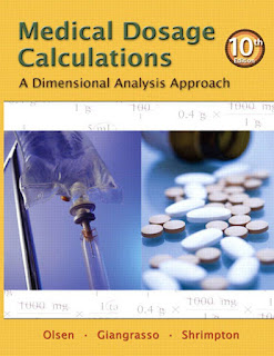 Medical Dosage Calculations A Dimensional Analysis Approach 10th Edition