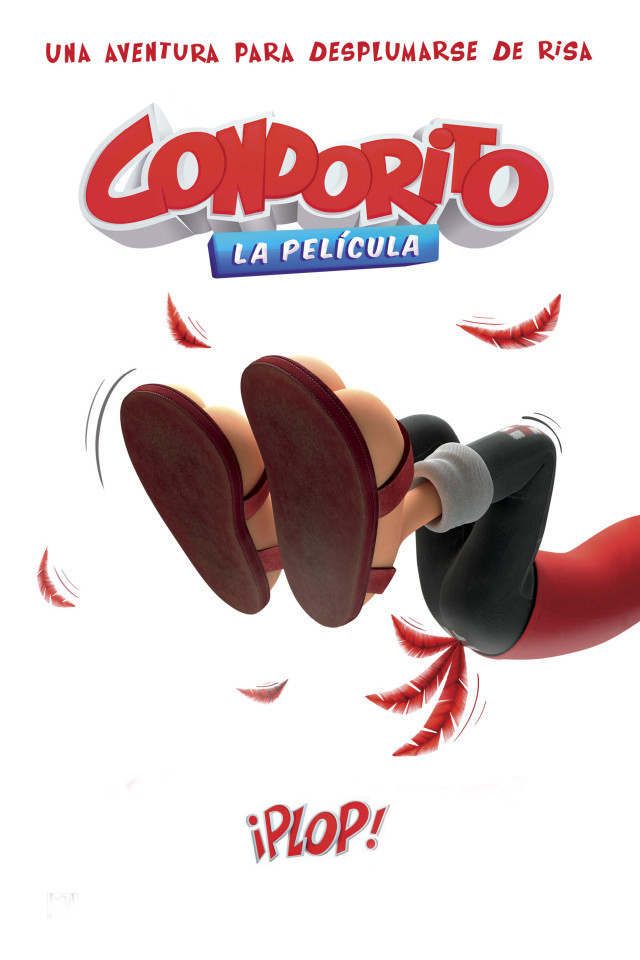 Condorito: La película [2017] [DVDR] [NTSC] [CUSTOM HD] [Latino]