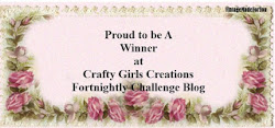 Winner Crafty Girls Creations challenge nº20