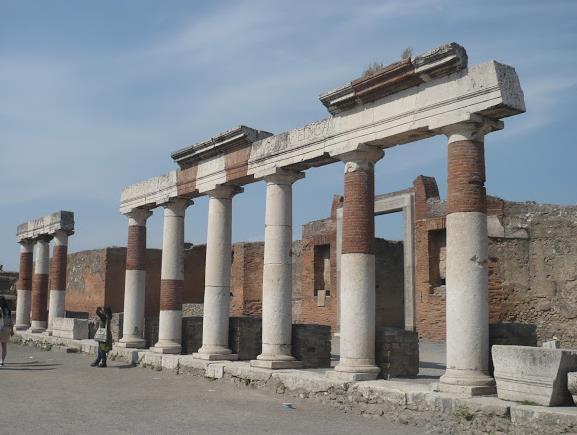 porticato a Pompei
