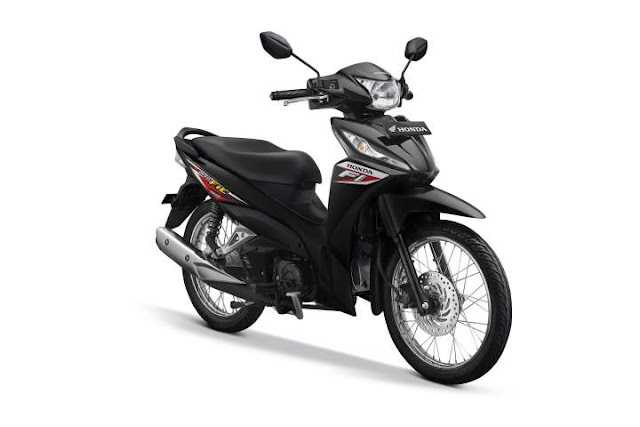 Warna New Honda Revo Raving Red