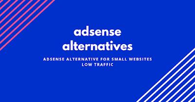 Adsense alternative for small websites