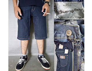 celana jeans pendek, celana jeans murah, celana jeans pria pendek, celana jeans wrangler