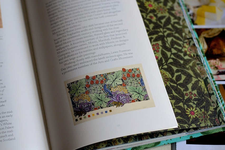 A Pattern By Charles F A Voysey Recalls William Morris S Well Known Strawberry Thief Of 1883 From The Book Bitten By Witch Fever P