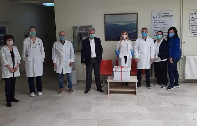 Το δώρο του Δημάρχου Ερμιονίδας στο προσωπικό του Κέντρου Υγείας Κρανιδίου