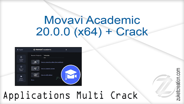 Movavi Academic 20.0.0 (x64) + Crack