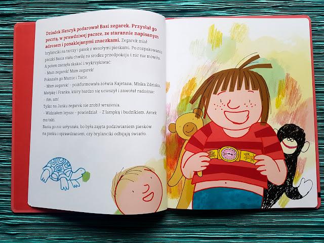 Zofia Stanecka - Basia i zegarek - Basia i przyjaciele. Janek. - Egmont Literacki - książeczki dla dzieci