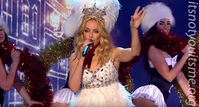 Kylie Minogue Makes Its The Most Wonderful Time Of The Year This X-Mas In Our FBF Feat This Week!