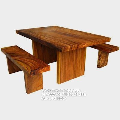 Jual mebel trembesi,meja kayu trembesi solid panjang 3 meter,trembesi jepara