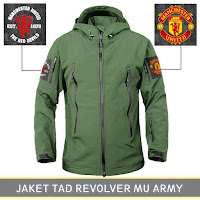 Jual Jaket Waterproof Manchester United
