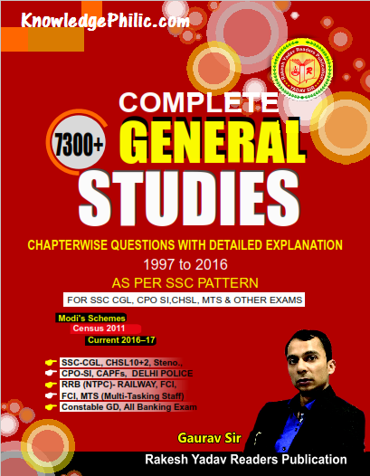 download Rakesh Yadav 7300 General Studies Chapterwise Questions With Explanations 1997 to 2016 by Gaurav Sir