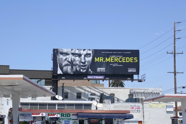 Mr Mercedes season 2 billboard