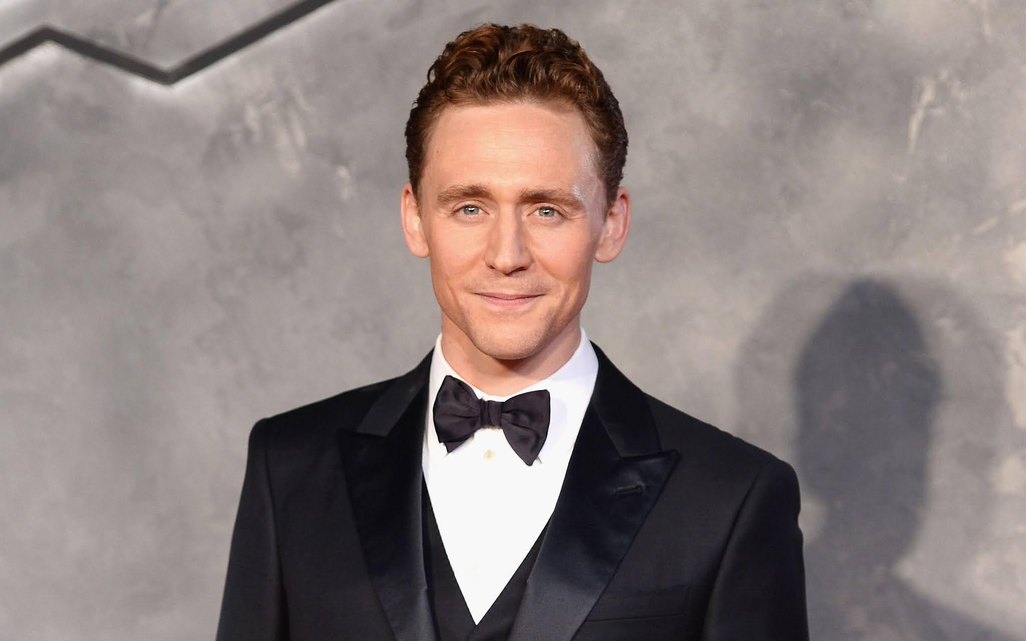 Tom Hiddleston handsome