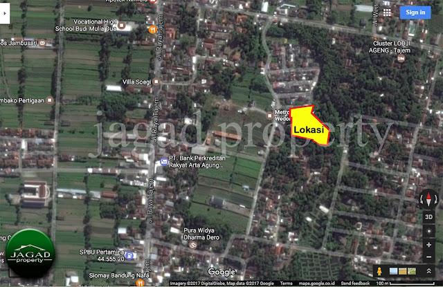 Tanah dekat Kampus Respati Maguwoharjo