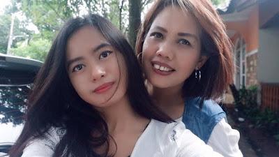 Elly Dan Putrinya Ulfi Damayanti