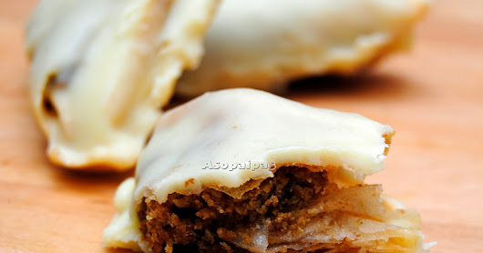 Baklava De Chocolate Blanco