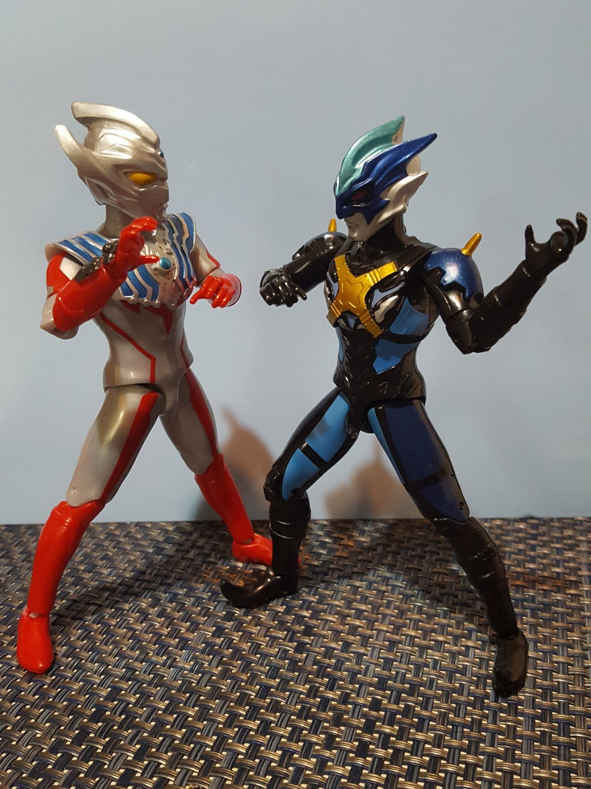 Bandai Ultra Action Ultraman Taiga and Tregear