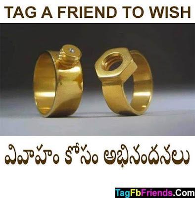 Happy marriage in Telugu language