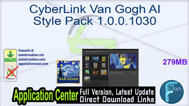CyberLink Van Gogh AI Style Pack 1.0.0.1030