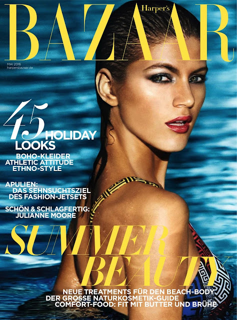 Fashion Model, @ Valery Kaufman – Harper's Bazaar Magazine Germany May 2016 Issue