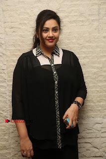 Tamil Actress Meena Latest Stills in Black Dress at TSR TV9 Awards Press Meet  0027.JPG