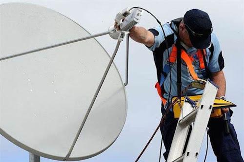 Instalação e apontamento de antena ku via satelite na zona norte sp