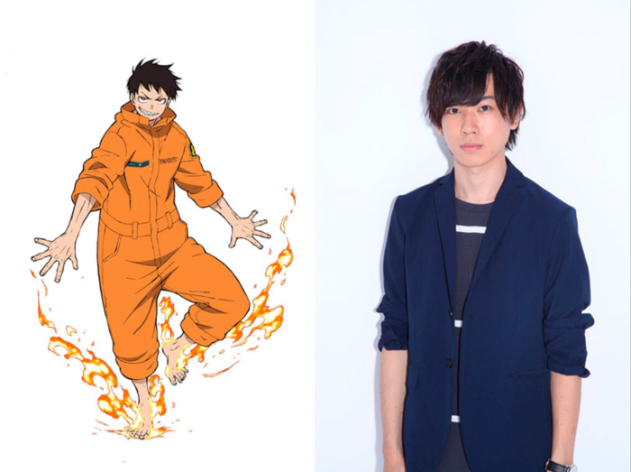 Gakuto Kajiwara - Fire Force anime