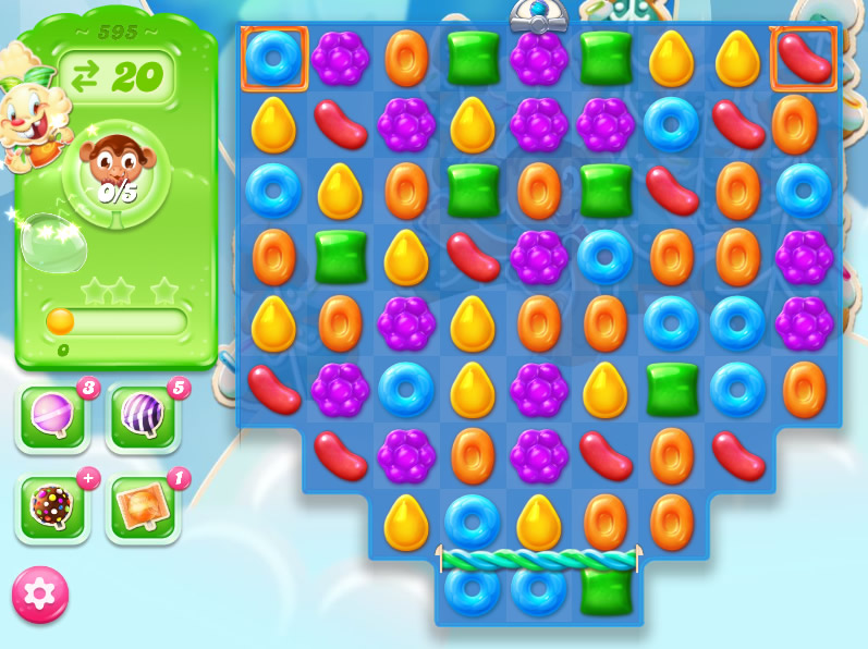 Candy Crush Jelly Saga level 595