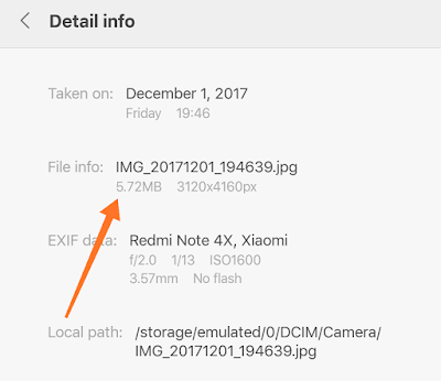 Memperkecil Ukuran Foto Menggunakan Hp Android 8
