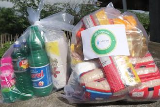 """3ª etapa da campanha """"Nem vírus, nem fome: Compaixão"""" beneficia mais de 2.000 famílias em Itapiúna, Baturité e Ibaretama"""
