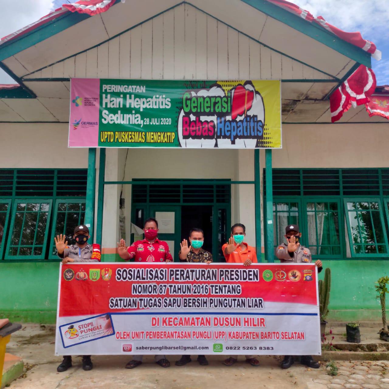 Ajak Perangi Pungli, Personel Polsek Dushil Laksanakan Sosialisasi Perpres Nomor 87 Tahun 2016