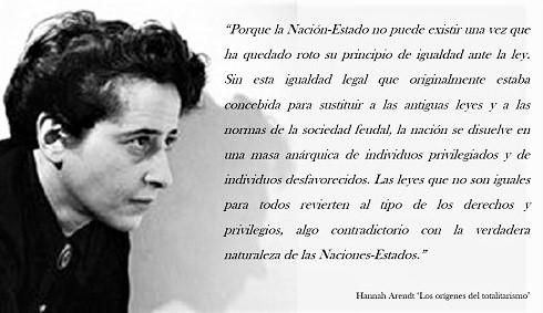 El Hombre: Animal Social o Político, un texto de Hannah Arendt
