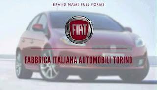 Image logoFIAT Fabbrica Italiana Automobile Torino