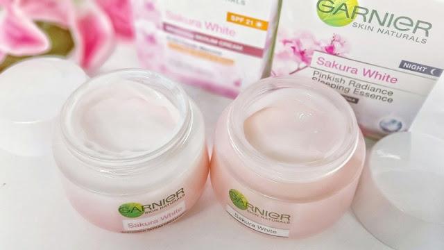 Produk Night Cream dari Garnier untuk Wajah