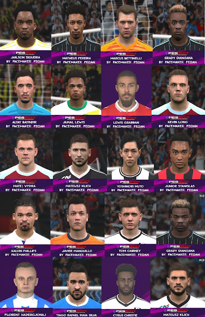 PES 2017 Facepack January 2020 by Feqan