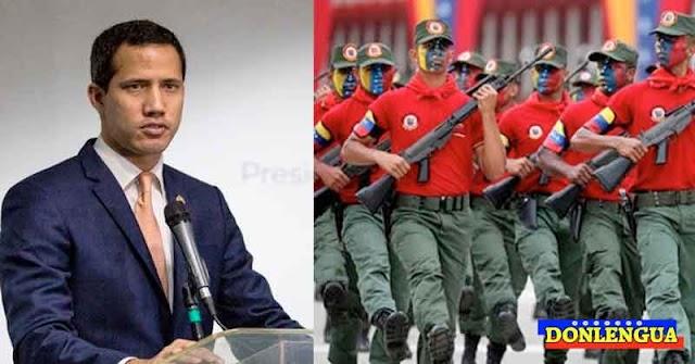 Juan Guaidó le exigió a las Fuerzas Armadas que rescaten al país