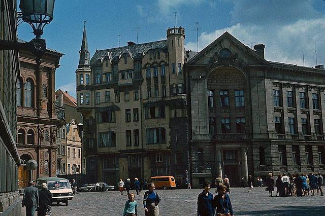 1979 год. Рига. Домская площадь
