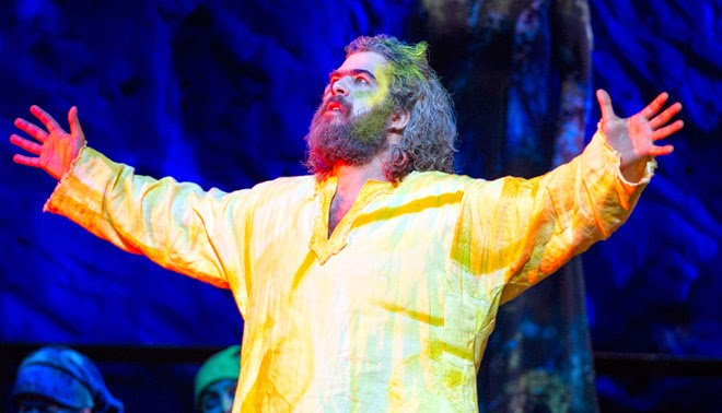 Miklos Sebestyen as Mose in Mose in Egitto - Welsh National Opera- credit Richard Hubert Smith