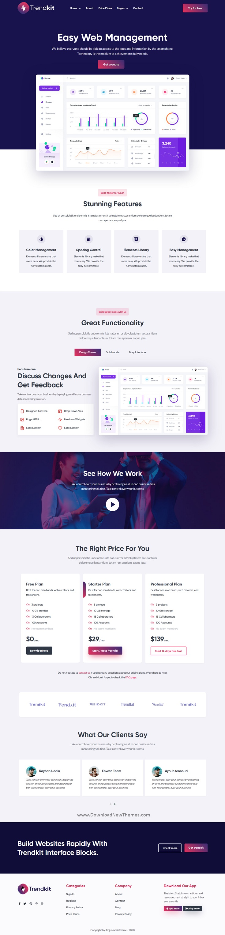 Software & Startup Agency Theme