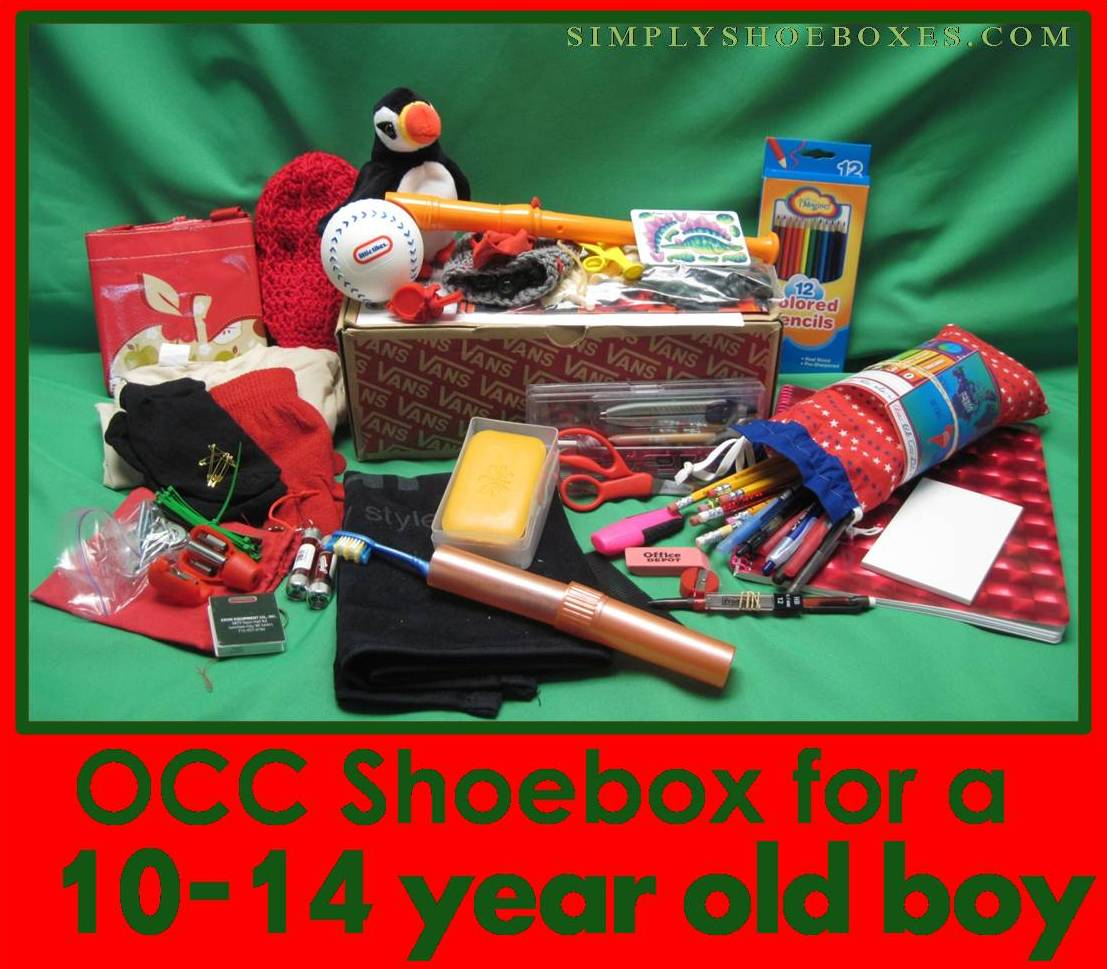 Simply Shoeboxes: Operation Christmas Child Shoebox for 10-14 Year ...