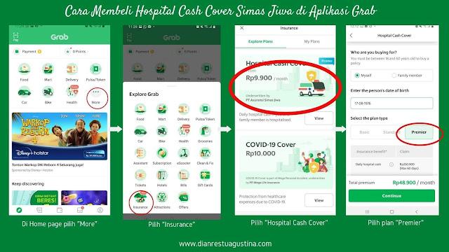Hospital Cash Cover Simas Jiwa