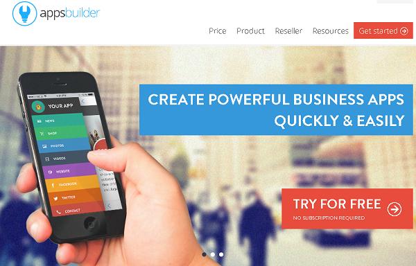 apps-builder صناعة تطبيق اندرويد مجانا