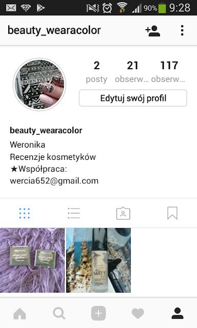 Przenoszę się na Instagrama.