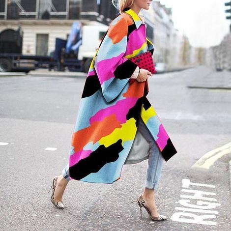 PATTERN STATEMENT COAT