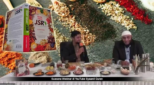 Launching Buku Resep Sehat JSR