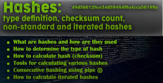What are hashes