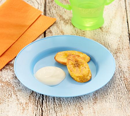 Plátano al horno receta para bebe