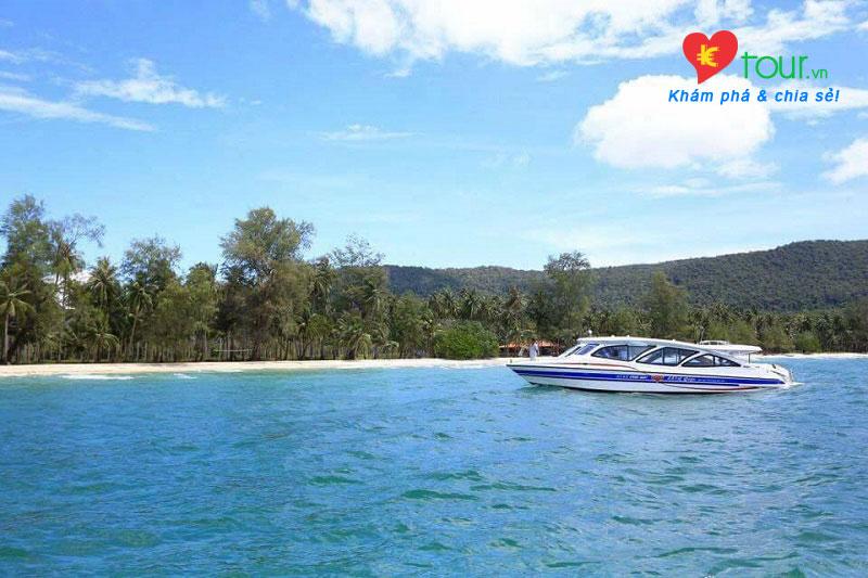 Tour du lịch Châu Đốc – Bokor – Sihanouk Ville – Đảo Koh thansur
